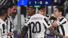 Resumen | ¡Tumban al campeón! Juventus sorprende al Chelsea