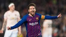 Se fue: Los grandes goles de Messi en Champions con el Barça