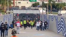 Fans protagonizan actos violentos previo al San Luis vs. América