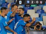Hirving Lozano y Napoli siguen líderes invictos con triunfo ante Cagliari