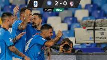 ¡Invencibles! Chucky y Napoli son líderes e invictos en Italia