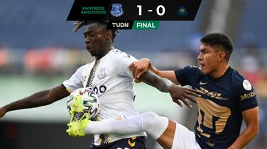 Pumas cae ante Everton en amistoso con gol de Moise Kean