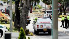 La explosión de un coche bomba dejó al menos 10 muertos y más de 50 heridos en Bogotá