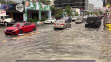 Así están algunas calles de Miami luego del aviso de inundación que emitieron este jueves