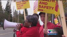 Enfermeros en huelga