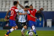 FINAL   Argentina y Chile empatan en su presentación en la Copa América
