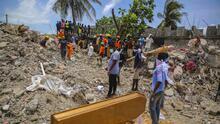 Sube a 2,189 el número de víctimas mortales por el terremoto en Haití