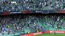 ¡GOL!  anota para Real Betis. Juanmi