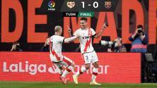 Falcao y el Rayo vencen al Barcelona y lo dejan fuera de puestos europeos