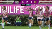 Con un final de alarido Chivas le sacó el triunfo al América