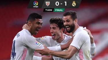 Con gol de Nacho, el Real Madrid venció al Athletic y sigue peleando por LaLiga