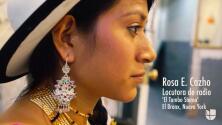De la frontera a la radio: Rosa E. Cazho
