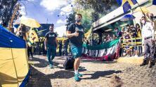 ¡Fue un carnaval! América viajó a Monterrey con 'pasillo' de fans