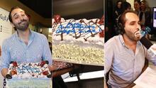 El Compa Ivan se llevó un pastelazo por su cumpleaños #32