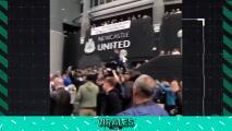 Compra del Newcastle desata la euforia de los fans