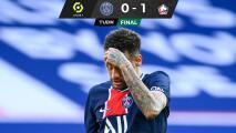 Neymar protagoniza dos altercados y PSG pierde el liderato