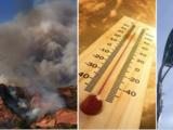 Calor, sequía y vientos: riesgos para la salud y amenaza de incendios en el sur de California