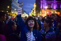 En fotos: Partidarios de López Obrador celebran su virtual victoria en las elecciones presidenciales de México