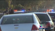 Intruso muere balaceado por policías en Stockton