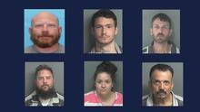 Estos son los fugitivos más buscados por las autoridades de Houston esta semana