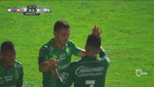 ¡Es goleada! González marca el 0-3 y liquida al Tiburón