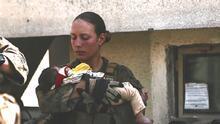 Realizarán los servicios fúnebres de Nicole Gee, sargento de la Marina que murió en ataque en Afganistán