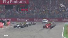 Sin 'rasguños': así fue la limpia y emocionante salida del Gran Premio de Alemania