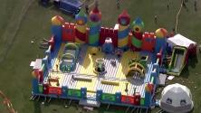 El brincolín más grande del mundo llega a Joliet para diversión de grandes y chicos
