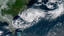 Chris se fortalece y podría convertirse en el segundo huracán de la temporada en el Atlántico