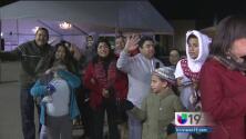 Gran ambiente en la segunda posada de Univision 19