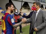 Messi habría recibido propuesta de renovación del Barcelona