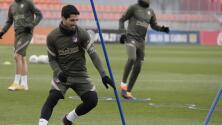 Diego Simeone elogia a Suárez tras superar coronavirus