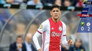 ¡Nadie los para! Ajax gana a ADO Den Haag con Edson Álvarez