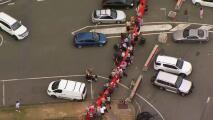 Con barricadas y estrictos controles: así marca Australia las fronteras entre sus estados para detener el covid-19