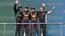 Red Bull hace el 1-3 en Austin con Verstappen delante de Checo Pérez