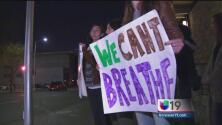 Sacramento protesta en contra de la brutalidad policiaca