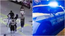 Emiten alerta comunitaria por casos de violencia y robo que se han registrado en el centro de Chicago
