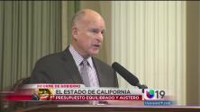 Brown rinde informe de gobierno de California