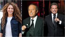 Shakira, Julio Iglesias y Luis Miguel entre los famosos que aparecen en los Pandora Papers