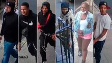 Estos son los seis jóvenes a quien NYPD busca por supuestamente atacar con palos y botellas a un señor