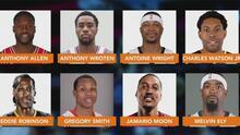 Exjugadores de la NBA son arrestados al enfrentar cargos de fraude por seguro médico