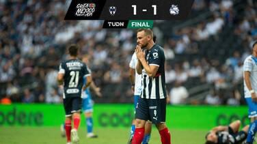 El Puebla obtiene empate de último minuto ante el Monterrey
