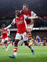Alexandre Lacazette, Emile Smith Rowe y Eddie Niketiah le dieron la victoria al Arsenal sobre AFC Wimbledon en la EFL Cup, consiguiendo su pase a la siguiente ronda.