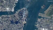 Imágenes satelitales: el antes y después de los ataques del 9/11