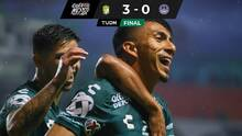 León ganó, goleó y gustó ante un desdibujado Mazatlán