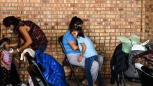 En fotos: El fin de la espera en México y la oleada de niños migrantes