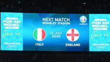 Inglaterra ajusta alineación para la Final de la Euro ante Italia