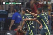 ¡Se estrena con el América! Salvador Reyes pone el 1-0 con un zapatazo