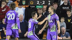 Jiménez y los Wolves son eliminados de la EFL Cup por los Spurs
