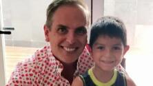 """""""Me partió el alma"""": Sergio Mayer visitó al hijo de Xavier Ortiz para abrazarlo y darle un conmovedor mensaje"""